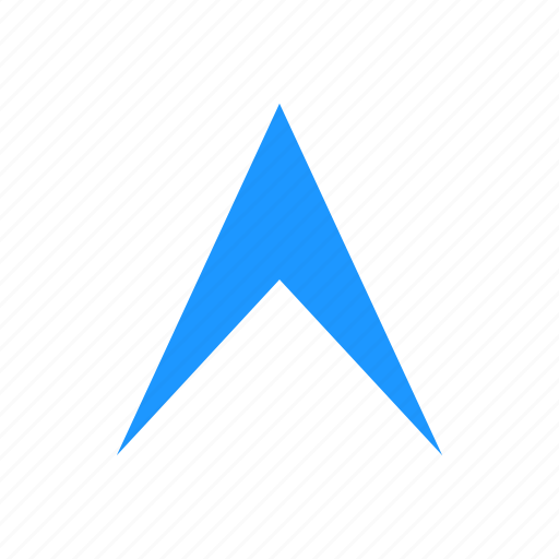 arrow up, navigation, pointer, up icon
