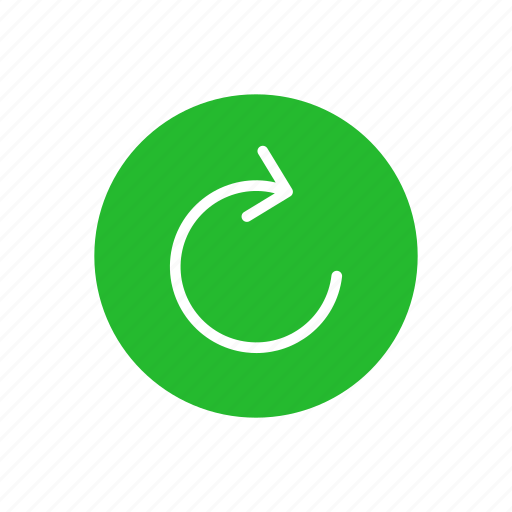 arrow, cycle, loading, processing icon
