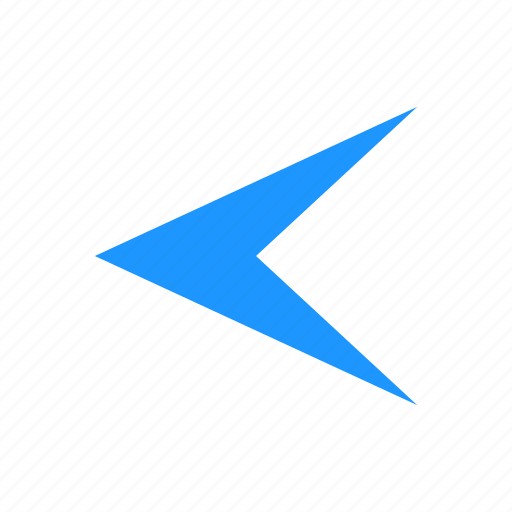 arrow, back, navigator, pointer icon