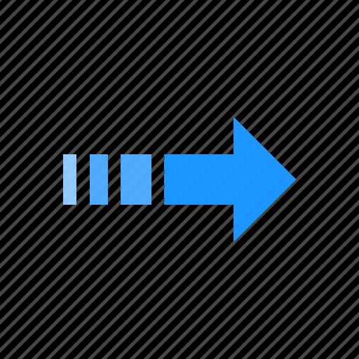 arrow, navigation, next, right icon