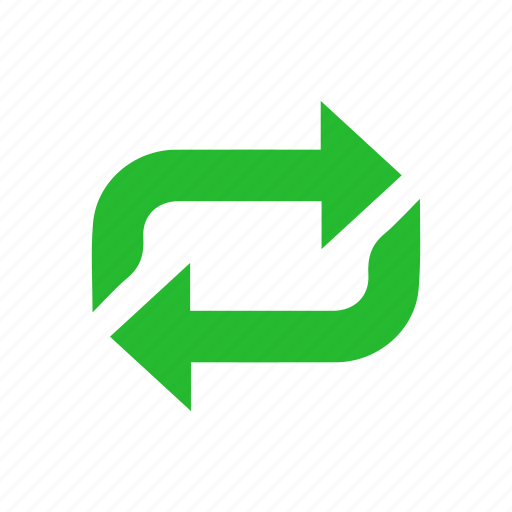 arrows, process, rotate, share icon