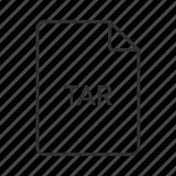 consolidated unix, consolidated unix file, consolidated unix file archive, tar, tar file, tar icon, unix icon