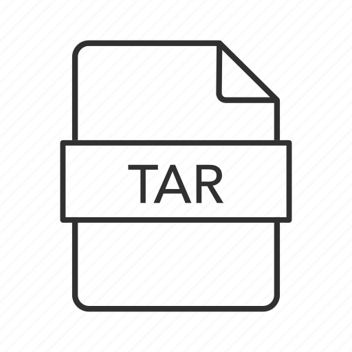 consolidated unix file, consolidated unix file archive, tar, tar file, tar icon, unix, unix file icon