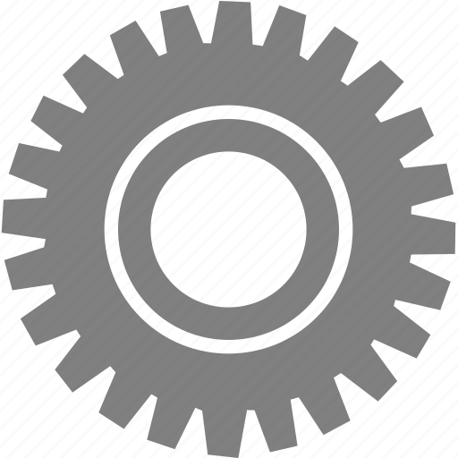 control, gear, setting, tool icon
