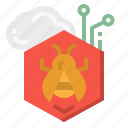 bug, infected, infection, malware, virus icon