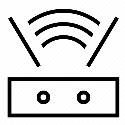 Router, antenna, modem, network, signal, wifi, wireless icon - Download on Iconfinder