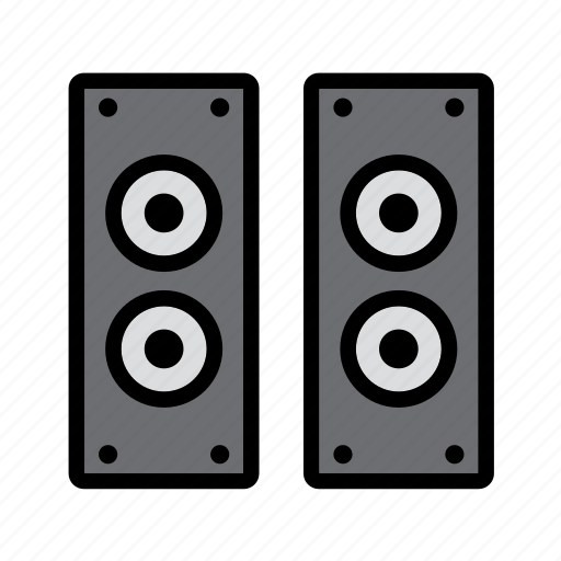 audio, computer, player, speaker, speakers, technology icon