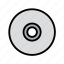 cd, cd-rom, computer, disk, technology icon