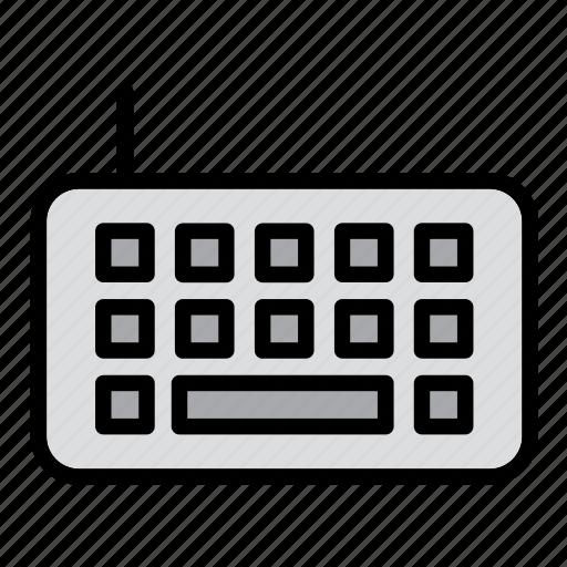 computer, keyboard, keypad, technology, touchpad icon