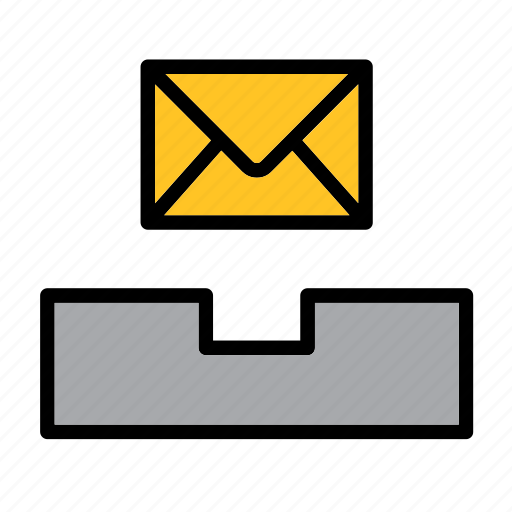 computer, email, envelope, inbox, mail, mailing, message icon