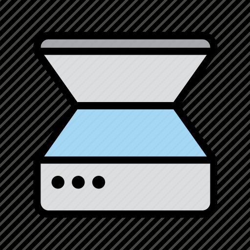 copier, device, office, photocopier, photostat, printer, technology icon