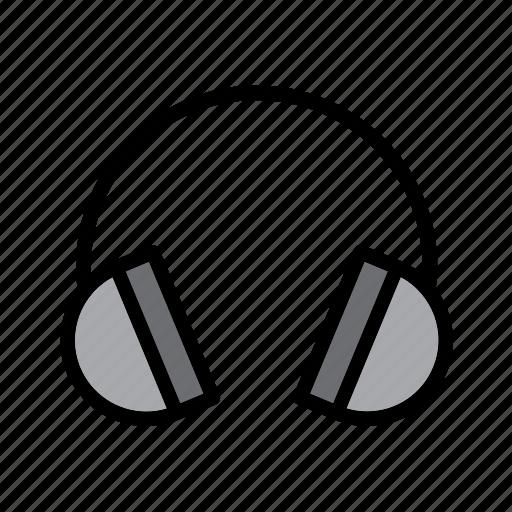 computer, headphone, headphones, headset, technology icon