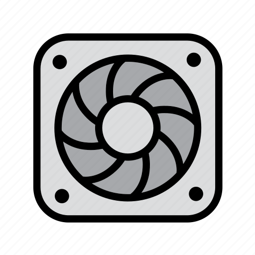 air vent, computer, computers, engineering, fan, technology, vent icon