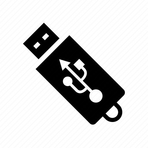 computer, device, memory, pendrive, technology, usb icon