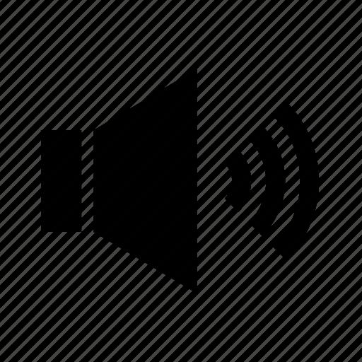 audio, computer, sound, speaker, technology icon