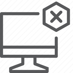 computer, desktop, device, display, imac, monitor, remove, screen icon