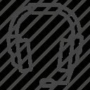 audio, computer, device, headphone icon