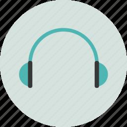 audio, computer, data, digital, earphones, electronic, music icon