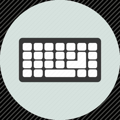 computer, data, digital, electronic, keyboard, pad, type icon
