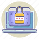 account, encrypted, locked, login, password, protected, security icon