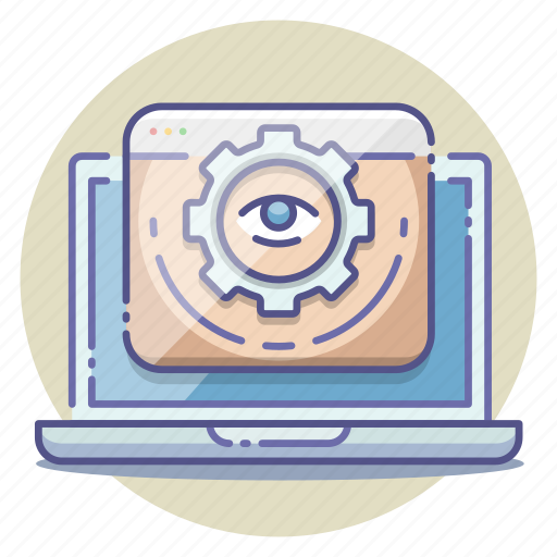 analysis, branding, management, search, seo, views, visibility icon