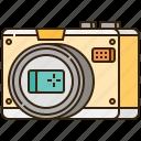 camera, len, photo, photograph, photography icon