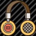 earphones, headphones, headset, sound, speaker icon