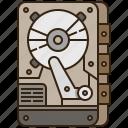 computer, data, drive, harddisk, storage icon