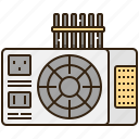 electrical, power, supply, ups, voltage icon