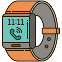 clock, smart, technology, time, watch icon
