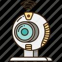 cam, camera, conference, video, webcam icon