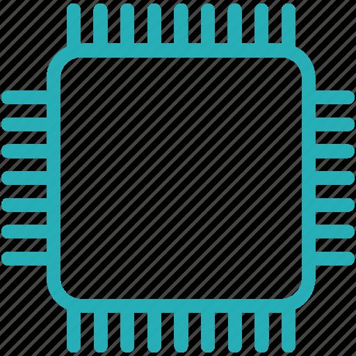 circuit, computer, cpu, microchip, processor icon