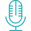 audio, mic, mike, record, sound, speak, voice icon