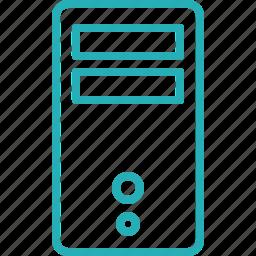 computer, cpu, data, device, hardware, memory, processor icon