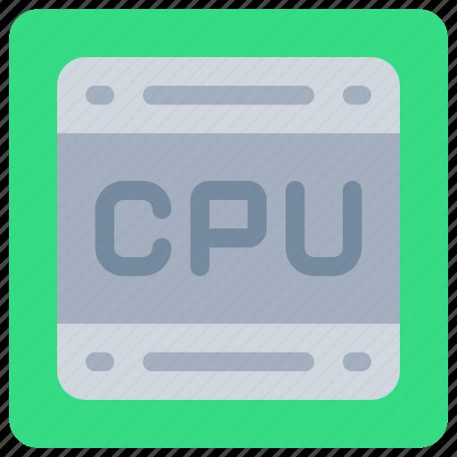 computer, cpu, hardware, pc, processor icon