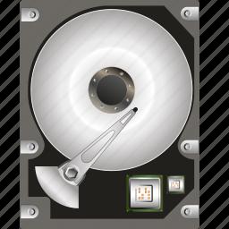 data, drive, hard, hardware, information, memoey, technology icon
