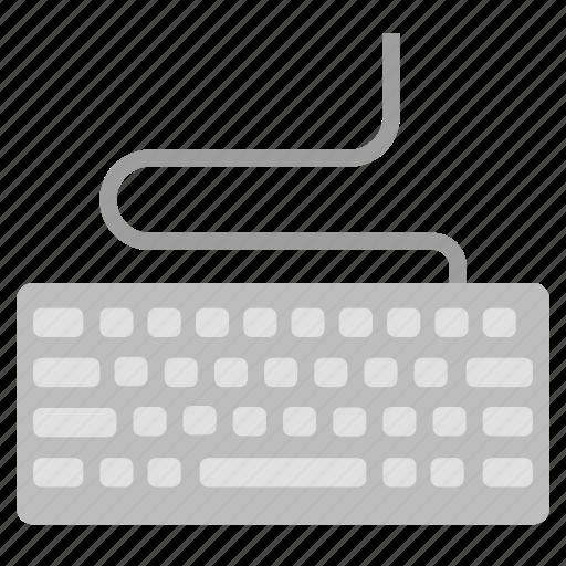 computer, enter, hardware, input, keyboard, peripheral, type icon