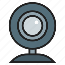 camera, computer, hardware, input, peripheral, web, webcam icon