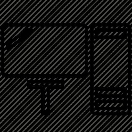 computer, desktop, ui, user interface icon