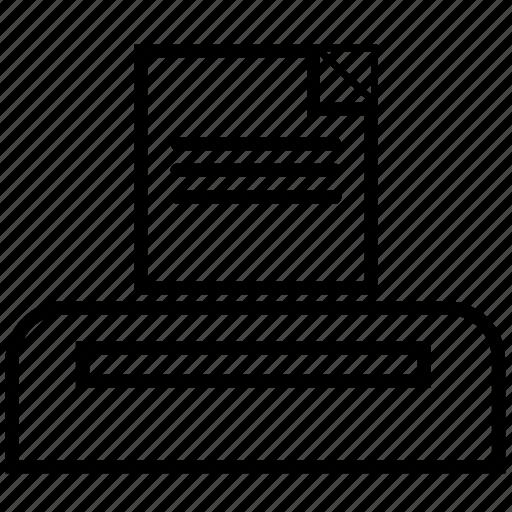 computer, printer, ui, user interface icon