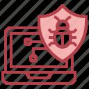 antivirus, protection, security, laptop, bug