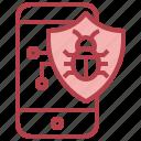 antivirus, protection, security, smartphone, bug