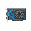 card, computer, device, display adapter, fan based, graphic card, video card