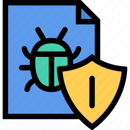 antivirus, computer, data, information, port, protection icon