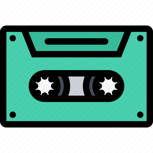 cassette, computer, data, information, port, protection icon