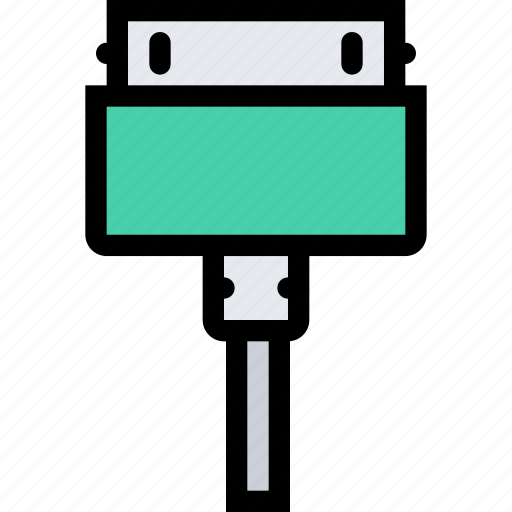 charger, computer, data, information, port, protection icon