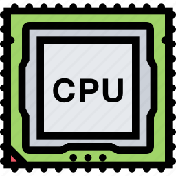 computer, cpu, data, information, port, protection icon