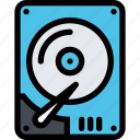 computer, data, hdd, information, port, protection icon