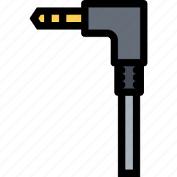 computer, data, information, jack, port, protection icon