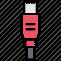 computer, data, information, micro, port, protection, usb icon